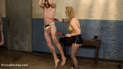 Photo number 2 from Pretty boy slave humiliated and pegged by Mistress Cherry Torn! shot for Divine Bitches on Kink.com. Featuring Cherry Torn and Sebastian Keys in hardcore BDSM & Fetish porn.