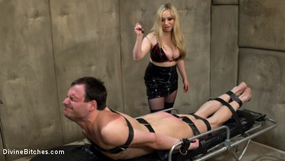 Photo number 3 from PROSTATE MILK FISTING WITH MULTIPLE ORGASMS! shot for Divine Bitches on Kink.com. Featuring Aiden Starr and Marcelo in hardcore BDSM & Fetish porn.
