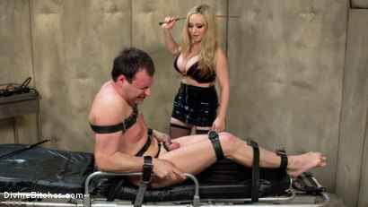 Photo number 2 from PROSTATE MILK FISTING WITH MULTIPLE ORGASMS! shot for Divine Bitches on Kink.com. Featuring Aiden Starr and Marcelo in hardcore BDSM & Fetish porn.