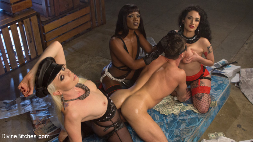 Group domination and strapon dp orgy xxx 9
