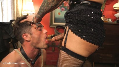 Photo number 1 from This lady of the night has a pounding hard cock ready to fuck! shot for TS Seduction on Kink.com. Featuring Lance Hart and TS Foxxy in hardcore BDSM & Fetish porn.