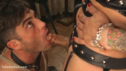 Photo number 12 from This lady of the night has a pounding hard cock ready to fuck! shot for TS Seduction on Kink.com. Featuring Lance Hart and TS Foxxy in hardcore BDSM & Fetish porn.