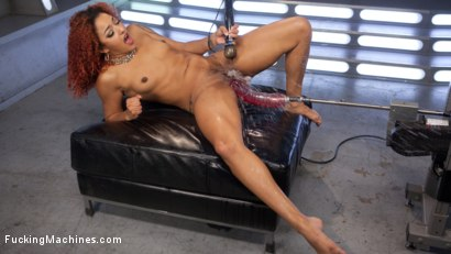 Photo number 10 from Pussy Stretched with Big Red, Ass Fucking, and Non Stop Squirting!! shot for Fucking Machines on Kink.com. Featuring Daisy Ducati in hardcore BDSM & Fetish porn.