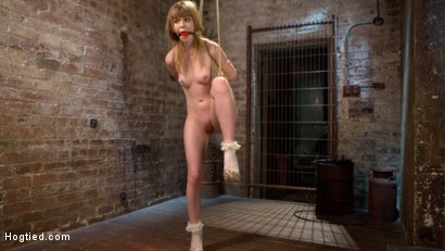 Photo number 1 from Dolly's Innocence Lost shot for Hogtied on Kink.com. Featuring Dolly Leigh and The Pope in hardcore BDSM & Fetish porn.