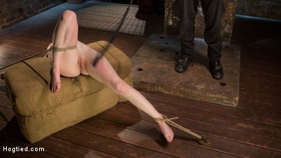 Photo number 11 from Dolly's Innocence Lost shot for Hogtied on Kink.com. Featuring Dolly Leigh and The Pope in hardcore BDSM & Fetish porn.