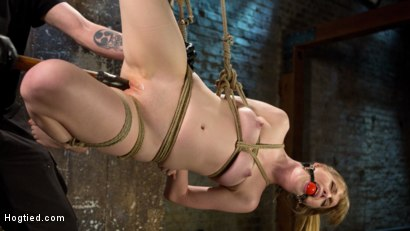 Photo number 14 from Dolly's Innocence Lost shot for Hogtied on Kink.com. Featuring Dolly Leigh and The Pope in hardcore BDSM & Fetish porn.