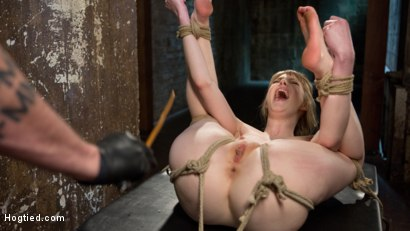 Photo number 6 from Dolly's Innocence Lost shot for Hogtied on Kink.com. Featuring Dolly Leigh and The Pope in hardcore BDSM & Fetish porn.