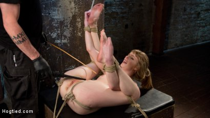 Photo number 7 from Dolly's Innocence Lost shot for Hogtied on Kink.com. Featuring Dolly Leigh and The Pope in hardcore BDSM & Fetish porn.