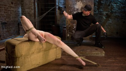Photo number 9 from Dolly's Innocence Lost shot for Hogtied on Kink.com. Featuring Dolly Leigh and The Pope in hardcore BDSM & Fetish porn.