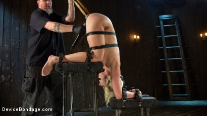 Photo number 2 from Fear is Power shot for Device Bondage on Kink.com. Featuring Lorelei Lee and The Pope in hardcore BDSM & Fetish porn.