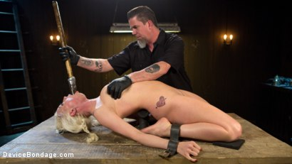 Photo number 7 from Fear is Power shot for Device Bondage on Kink.com. Featuring Lorelei Lee and The Pope in hardcore BDSM & Fetish porn.