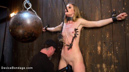 Photo number 3 from Dominatrix is Destroyed with Brutal Domination in Strict Bondage shot for Device Bondage on Kink.com. Featuring Mona Wales and The Pope in hardcore BDSM & Fetish porn.