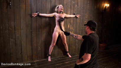 Photo number 4 from Dominatrix is Destroyed with Brutal Domination in Strict Bondage shot for Device Bondage on Kink.com. Featuring Mona Wales and The Pope in hardcore BDSM & Fetish porn.