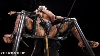 Photo number 1 from Super Sexy ALT Pain Slut Captured in Brutal Bondage and Tormented shot for Device Bondage on Kink.com. Featuring Kleio Valentien and The Pope in hardcore BDSM & Fetish porn.