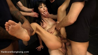 Photo number 9 from The Most Adorably Intense DOUBLE ANAL/VAG/PEN Gangbang of your DREAMS! shot for Hardcore Gangbang on Kink.com. Featuring Marica Hase, John Strong, Tommy Pistol, Steve Holmes, Bill Bailey and Jon Jon in hardcore BDSM & Fetish porn.