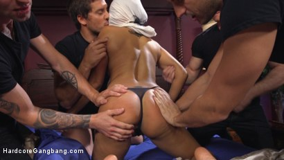 Photo number 2 from Slut girlfriend gets all holes filled and fucked! shot for Hardcore Gangbang on Kink.com. Featuring Gage Sin, Ramon Nomar, Yasmine de Leon, Jay Smooth and John Strong in hardcore BDSM & Fetish porn.
