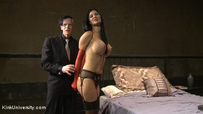 Photo number 3 from Sex Bondage with Stockings shot for Kink University on Kink.com. Featuring Jasmine Jae and Danarama in hardcore BDSM & Fetish porn.