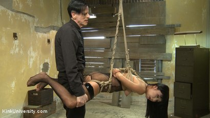 Photo number 9 from Suspension Bondage for Sex shot for Kink University on Kink.com. Featuring Marica Hase, Danarama and The Pope in hardcore BDSM & Fetish porn.