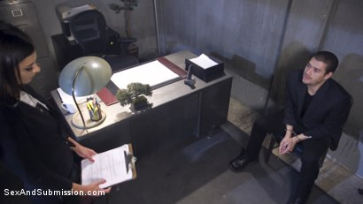 Photo number 1 from Rookie Detective Held Anal Hostage shot for Sex And Submission on Kink.com. Featuring Kacie Castle and Xander Corvus in hardcore BDSM & Fetish porn.