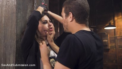 Photo number 8 from Rookie Detective Held Anal Hostage shot for Sex And Submission on Kink.com. Featuring Kacie Castle and Xander Corvus in hardcore BDSM & Fetish porn.