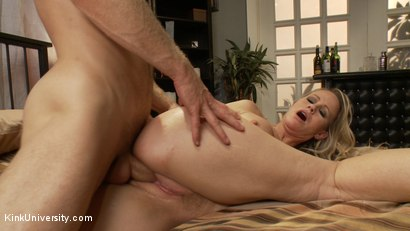 Photo number 13 from How to Seduce a MILF shot for Kink University on Kink.com. Featuring Simone Sonay and Michael Vegas in hardcore BDSM & Fetish porn.