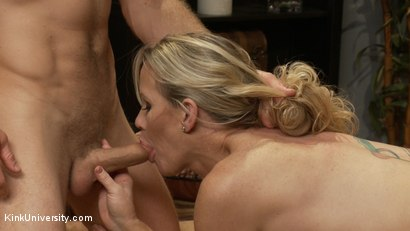 Photo number 5 from How to Seduce a MILF shot for Kink University on Kink.com. Featuring Simone Sonay and Michael Vegas in hardcore BDSM & Fetish porn.