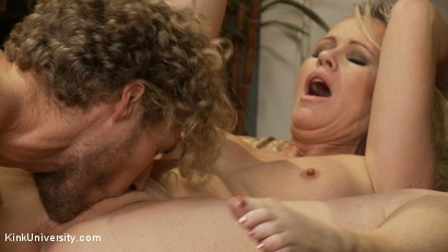 Photo number 7 from How to Seduce a MILF shot for Kink University on Kink.com. Featuring Simone Sonay and Michael Vegas in hardcore BDSM & Fetish porn.