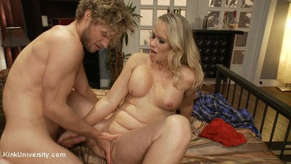 Photo number 8 from How to Seduce a MILF shot for Kink University on Kink.com. Featuring Simone Sonay and Michael Vegas in hardcore BDSM & Fetish porn.