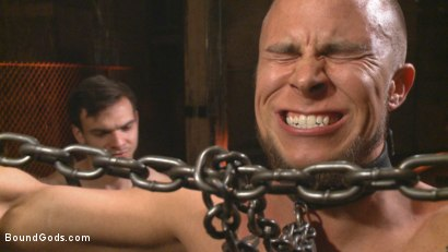 Photo number 9 from New Dom - Strong, Silent with a Wicked Smile shot for Bound Gods on Kink.com. Featuring Jason Maddox and Eli Hunter in hardcore BDSM & Fetish porn.