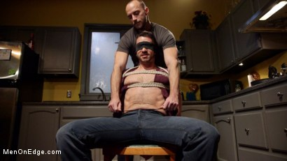 Photo number 1 from Jessie Fulfills His Fantasy: Introducing His Hot Friend to Bondage shot for Men On Edge on Kink.com. Featuring Owen Powers in hardcore BDSM & Fetish porn.