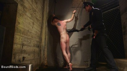 Photo number 12 from C E L L shot for Bound Gods on Kink.com. Featuring Jonah Marx and Seamus O'Reilly in hardcore BDSM & Fetish porn.