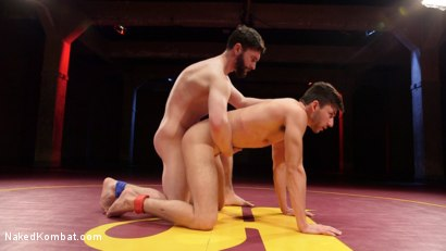 Photo number 12 from Boner Fight - Winner gets to fuck the loser shot for Naked Kombat on Kink.com. Featuring Scott DeMarco and Jackson Fillmore in hardcore BDSM & Fetish porn.