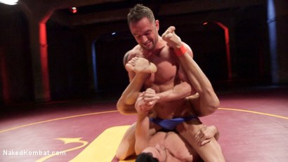 Photo number 10 from Jason Styles vs. Josh Conners: Tall beefy studs slam on the mat shot for Naked Kombat on Kink.com. Featuring Jason Styles and Josh Conners in hardcore BDSM & Fetish porn.