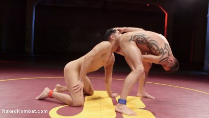 Photo number 11 from Jason Styles vs. Josh Conners: Tall beefy studs slam on the mat shot for Naked Kombat on Kink.com. Featuring Jason Styles and Josh Conners in hardcore BDSM & Fetish porn.