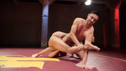 Photo number 6 from Jason Styles vs. Josh Conners: Tall beefy studs slam on the mat shot for Naked Kombat on Kink.com. Featuring Jason Styles and Josh Conners in hardcore BDSM & Fetish porn.
