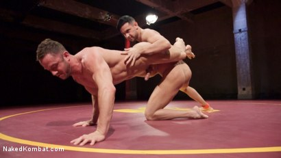 Photo number 7 from Jason Styles vs. Josh Conners: Tall beefy studs slam on the mat shot for Naked Kombat on Kink.com. Featuring Jason Styles and Josh Conners in hardcore BDSM & Fetish porn.