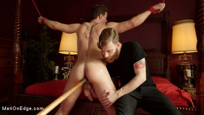 "Photo number 8 from JJ Knight gets his ass violated and his 10"" Cock edged to the extreme shot for Men On Edge on Kink.com. Featuring JJ Knight in hardcore BDSM & Fetish porn."