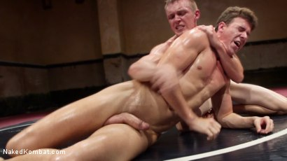 Photo number 15 from Southern Boys with Giant Cocks Wrasslin' in Oil: JJ Knight vs Zane Anders shot for Naked Kombat on Kink.com. Featuring Zane Anders and JJ Knight in hardcore BDSM & Fetish porn.