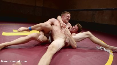 Photo number 4 from Southern Boys with Giant Cocks Wrasslin' in Oil: JJ Knight vs Zane Anders shot for Naked Kombat on Kink.com. Featuring Zane Anders and JJ Knight in hardcore BDSM & Fetish porn.