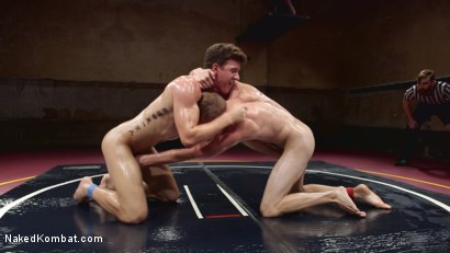 Photo number 12 from Southern Boys with Giant Cocks Wrasslin' in Oil: JJ Knight vs Zane Anders shot for Naked Kombat on Kink.com. Featuring Zane Anders and JJ Knight in hardcore BDSM & Fetish porn.