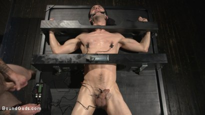 Photo number 12 from Hesitant Stud Transformed into Mr Wilde's Bondage Slut shot for Bound Gods on Kink.com. Featuring Christian Wilde and Max Woods in hardcore BDSM & Fetish porn.
