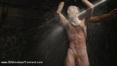 Photo number 12 from Extreme Water Torment  and Bad-Dragon Dildo  shot for 30 Minutes of Torment on Kink.com. Featuring Seamus O'Reilly in hardcore BDSM & Fetish porn.