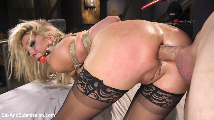 SexAndSubmission - Big Tit Anal Hostage