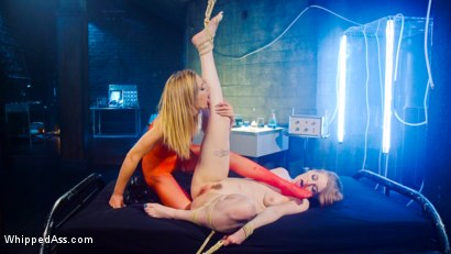 Photo number 10 from Double Trouble: A Clonesploitation Film! shot for Whipped Ass on Kink.com. Featuring Mona Wales and Ela Darling in hardcore BDSM & Fetish porn.
