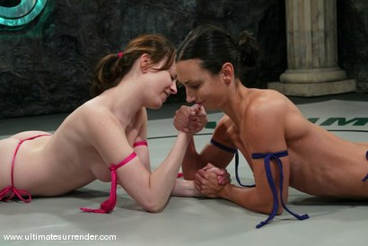 Photo number 1 from The Gymnast (2-5) Ranked 10th<br> The Jester (2-7)  Ranked 13th shot for Ultimate Surrender on Kink.com. Featuring Wenona and Dana DeArmond in hardcore BDSM & Fetish porn.