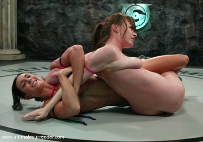 Photo number 9 from The Gymnast (2-5) Ranked 10th<br> The Jester (2-7)  Ranked 13th shot for Ultimate Surrender on Kink.com. Featuring Wenona and Dana DeArmond in hardcore BDSM & Fetish porn.