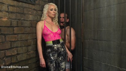 Photo number 1 from The Clear Box of Tease and Torment! shot for Divine Bitches on Kink.com. Featuring Lorelei Lee and Jonah Marx in hardcore BDSM & Fetish porn.