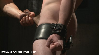 Photo number 1 from No Mercy for Jackson Fillmore: Beaten, Electrified, Humiliated & Fucked shot for 30 Minutes of Torment on Kink.com. Featuring Jackson Fillmore in hardcore BDSM & Fetish porn.