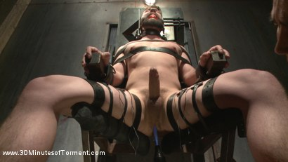 Photo number 2 from No Mercy for Jackson Fillmore: Beaten, Electrified, Humiliated & Fucked shot for 30 Minutes of Torment on Kink.com. Featuring Jackson Fillmore in hardcore BDSM & Fetish porn.