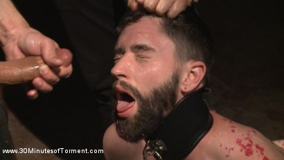 Photo number 9 from No Mercy for Jackson Fillmore: Beaten, Electrified, Humiliated & Fucked shot for 30 Minutes of Torment on Kink.com. Featuring Jackson Fillmore in hardcore BDSM & Fetish porn.